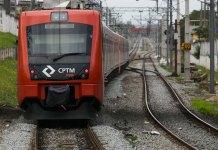 Trem CPTM Linha 12-Safira
