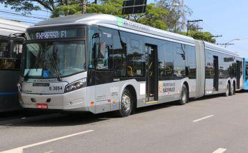Faixas exclusivas de ônibus Ônibus Grande Prêmio do Brasil