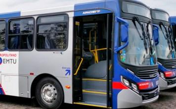 Ônibus da EMTU Transporte Linha 5202