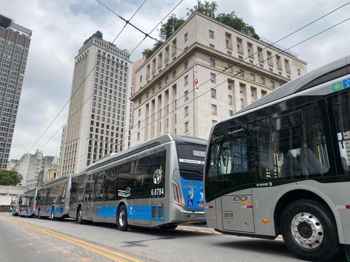 Novos ônibus Transwolff