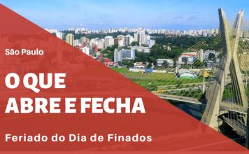 O que abre e fecha Finados São Paulo