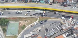 Ocorrência policial Viaduto Grande São Paulo