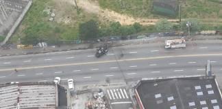 Acidente na Avenida Capitão João