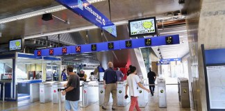Funcionamento Estação São Mateus Bloqueios