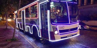 Ônibus Natalinos Araras Ônibus Natalino