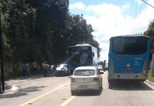 Acidente Estrada Ecoturística de Parelheiros