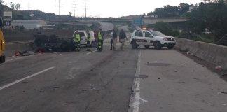 Acidente grave na rodovia Régis Bittencourt