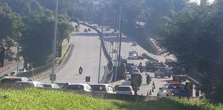 Acidente na rodovia Raposo Tavares Sábado