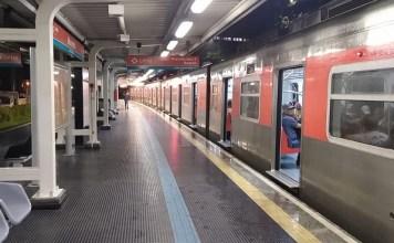 Linha 9-Esmeralda Alagamento