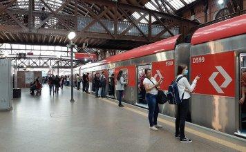 Plataforma Linha 7-Rubi Luz