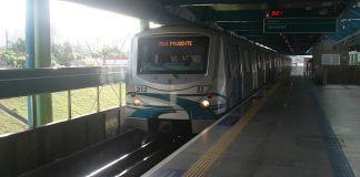 Metrô na Linha 2-Verde
