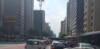 Avenida Paulista com Brigadeiro