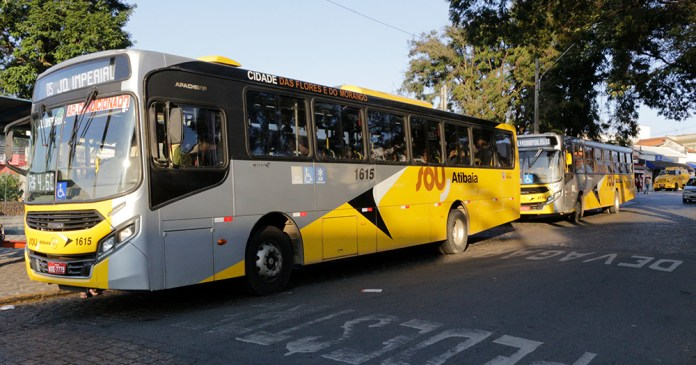 Ônibus da SOU Atibaia