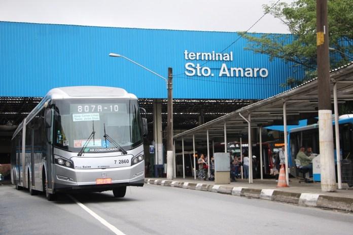 Ônibus Terminal Santo Amaro