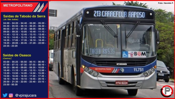 Linha 213 Pirajuçara