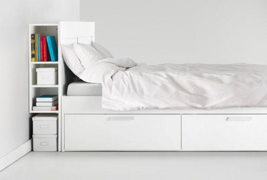 Tete De Lit Avec Rangement Integre Ikea Novocom Top