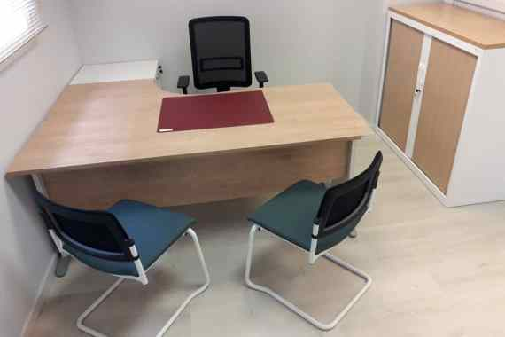 Aménagement d'un bureau d'agence au Mans