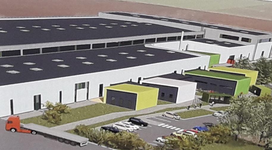 Aménagement des bureaux du site industriel soverglass spécialisé dans le travail du verre