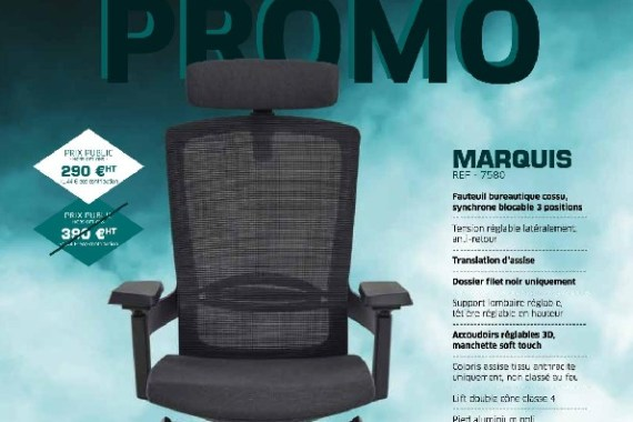 Promo Sitek 09-19 au 01-20 Mobilier de Bureau Alençon