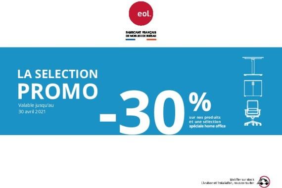 PROMOTION EOL valable du 1er janvier au 30 avril 2021 – Mobilier De Bureau Alençon – Nicolas Simon