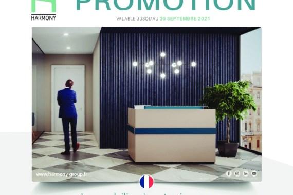 Promo Harmony ->30/09/21 – Découvrez dès maintenant notre nouvelle promotion et profitez de prix réduits sur une large gamme de produits et de nouveautés – MobilierDeBureauAlençon.fr
