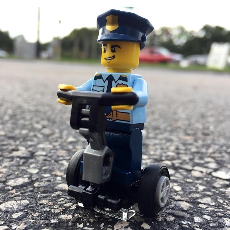 police Lego en Segway