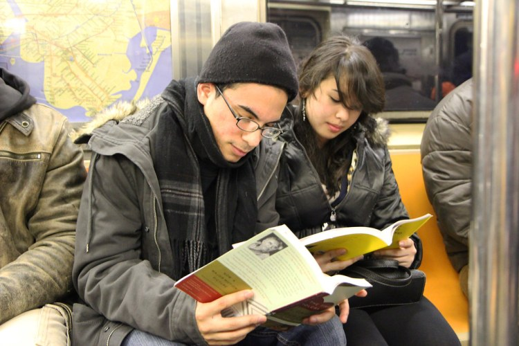 Enough physical distance in the subway