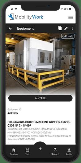 mobile cmms equipment management