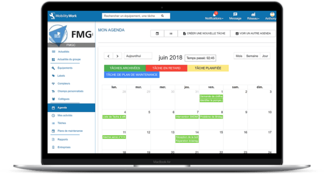 gmao logiciel de maintenance linux