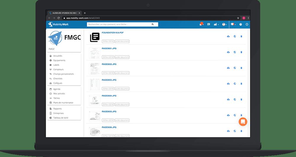 Ajouter la documentation constructeur et technique dans votre GMAO