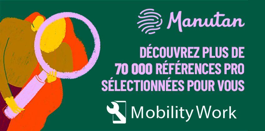 Mobility Work accueille Manutan sur la plateforme de GMAO