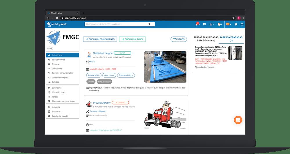 Gestionar sus usuarios y configurar fácilmente su GMAO