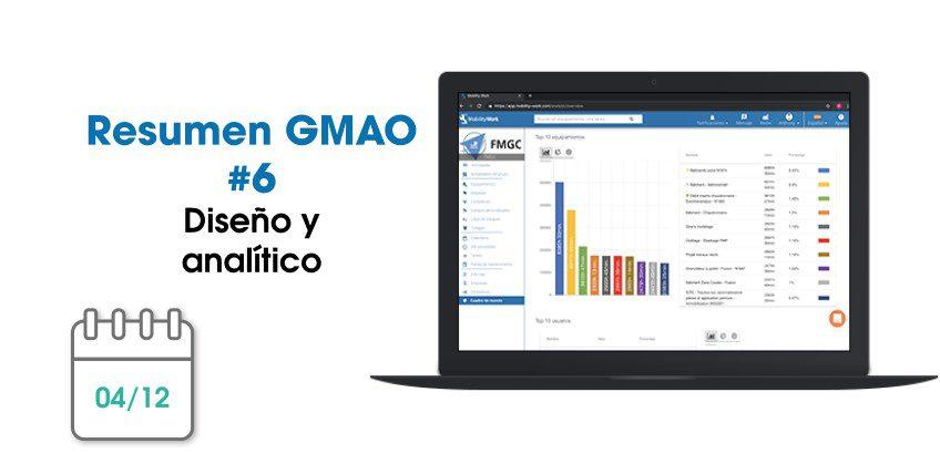 Novedades GMAO: diseño y analítico | Diciembre 2019