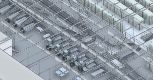 Visualization of equipment thanks to the BIM integrated into the CMMS