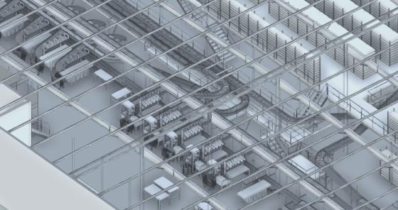 Visualisation d'équipements grâce au BIM intégré à la GMAO