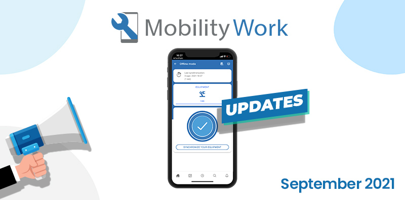 CMMS updates: create tasks in offline mode | September 2021