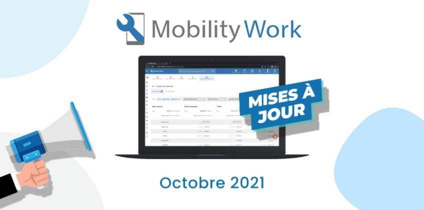 Nouveautés GMAO : un nouvel outil d'analyse des dépenses de maintenance | Octobre 2021