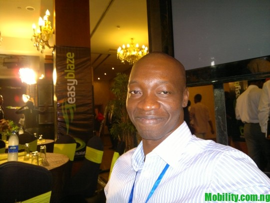 Mister Mobility at ETISALAT NIGERIA 3G LAUNCH