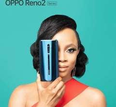 Toke Makinwa for OPPO Reno2 launch in Nigeria