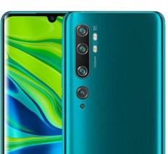 Xiaomi Mi Note 10 Pro cameras