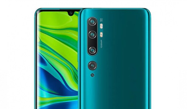 Xiaomi Mi Note 10 Pro is one of the phones with the best camera in Nigeria