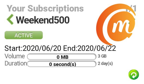 Glo 3GB for 500 naira Weekend Data Plan