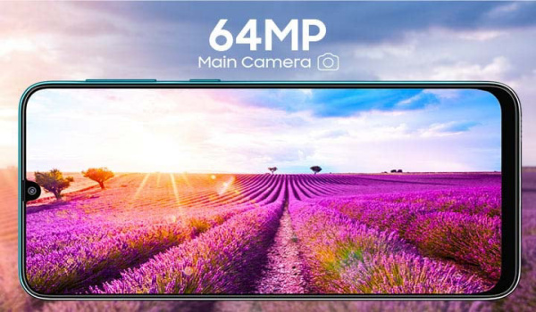 Samsung Galaxy F41 64MP camera