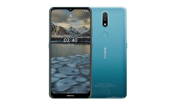 NOKIA 2.4 front and back