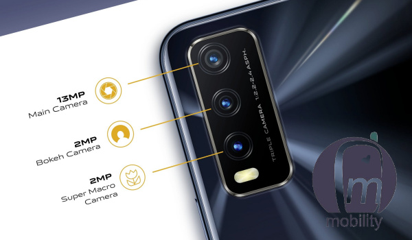 Vivo Y20s rear triple camera