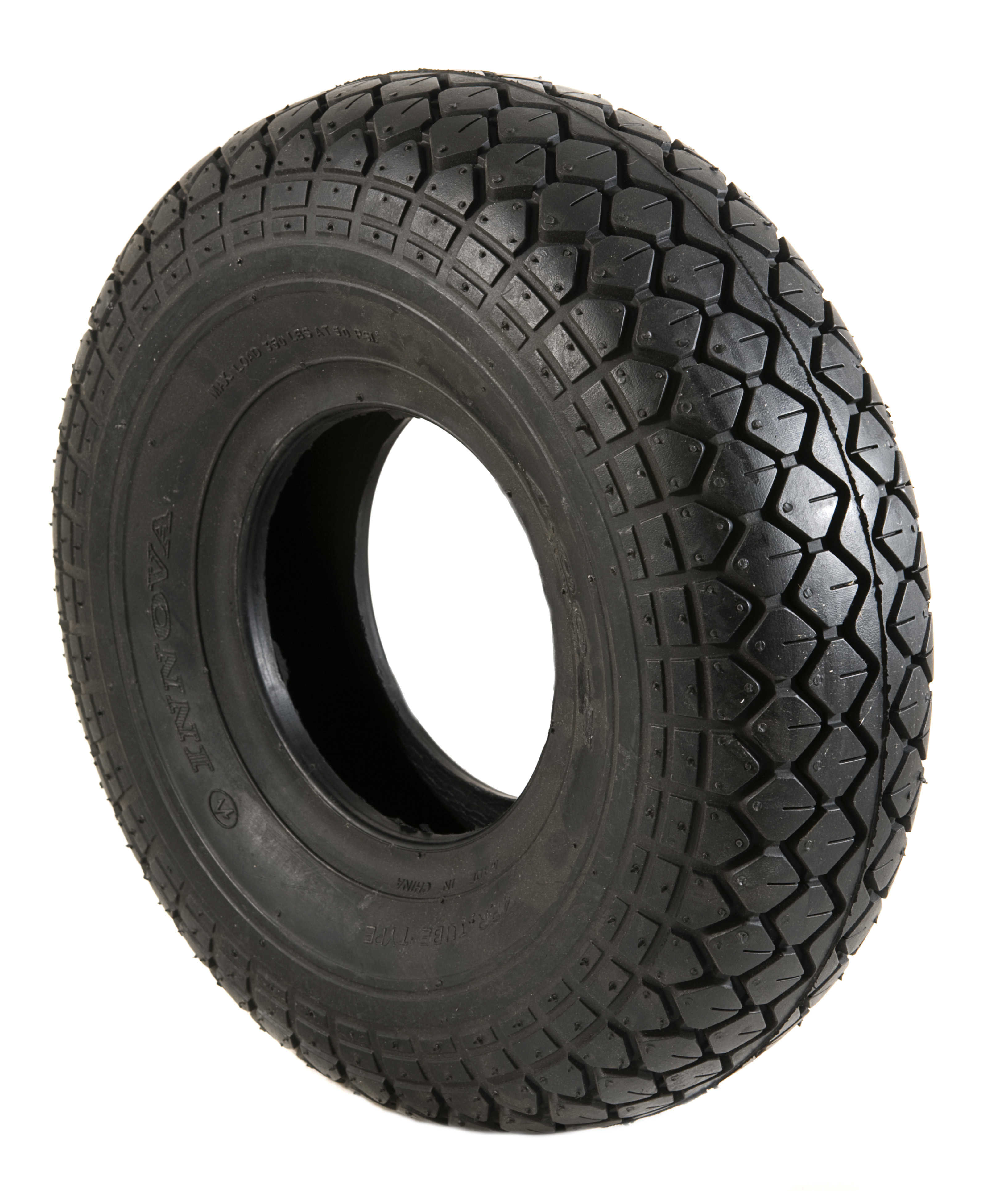 330 X 100 400 5 Black Air Tyre Mobility Aids Uk