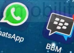 BBM versus WhatsApp