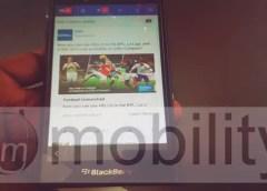 BlackBerry 10 Fecebook lite