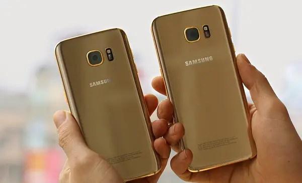 24k Samsung Galaxy S7 3