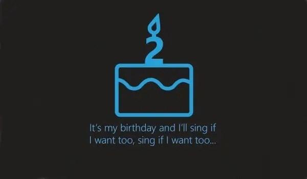 Cortana anniversary